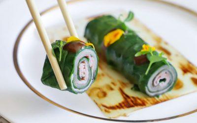 Come fare il sushi di prosciutto